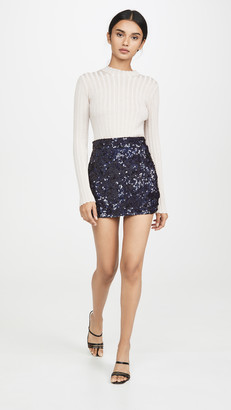 Ashish Sequin Miniskirt