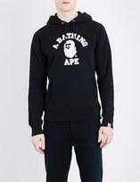 A Bathing Ape Logo-print cotton hoody