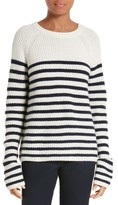 Joseph Women's Sailor Stripe Cashmere Pullover