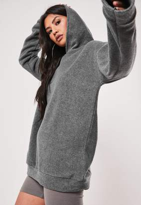Missguided Tall Grey Fleece Hoodie