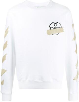 Off-White tape Arrows crew neck sweatshirt