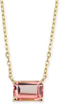 Suzanne Kalan KALAN by 14K Yellow Gold Amalfi Emerald Cut Necklace