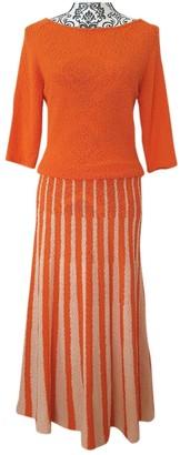 Tommy Hilfiger Orange Wool Dress for Women