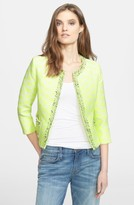 Mcginn Women's 'Jana' Diamond Woven Jacket