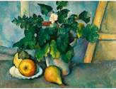 Cezanne The Courtauld Gallery, Paul Pot of Primroses and Fruit 1888-1890 Print