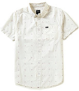 RVCA Dobby Short-Sleeve Slim-Fit Shirt