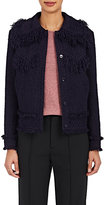Nina Ricci Women's Fringed Tweed Western Jacket