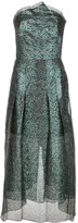 Roland Mouret Saranda metallic dress