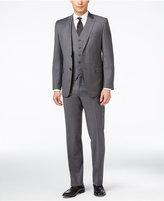 Lauren Ralph Lauren Charcoal Vested Slim-Fit Suit