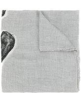 Faliero Sarti textured heart scarf
