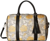 Deux Lux Canyon Fabric Weekender with Tassel