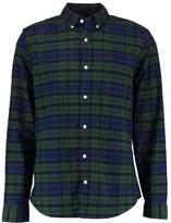 Gap Gap Holiday Tartan Standard Fit Oxford Shirt Forest Green