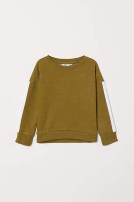 H&M Sweatshirt with Sleeve Stripes