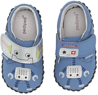 pediped Art Original (Infant) (Blue Robot) Boy's Shoes