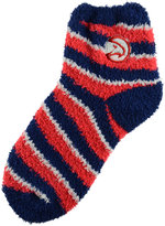 For Bare Feet Atlanta Hawks Sleep Soft Candy Striped Socks