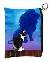 Salvador Kitti Change Purse, Vegan Coin Purse - Animals - (Tuxedo Cat - Antonie's Shadow) ...