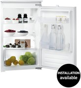 Indesit INS901AA 55cm Integrated Fridge - White