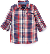 Lucky Brand Red & Blue Patriot Button-Up - Boys