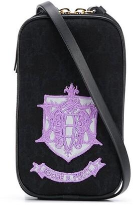 Emilio Pucci x Koche appliqued crossbody bag