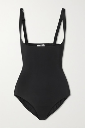 Wolford Mat De Luxe Stretch-jersey Bodysuit - Black