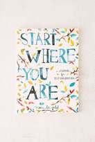 Urban Outfitters Start Where You Are: A Journal For Self-Exploration By Meera Lee Patel