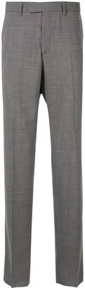 Cerruti grey slim fit trousers