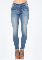 Bebe Equestrian Skinny Jeans