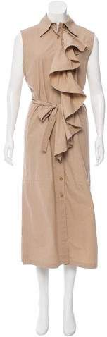 Tome Sleeveless Poplin Dress w/ Tags