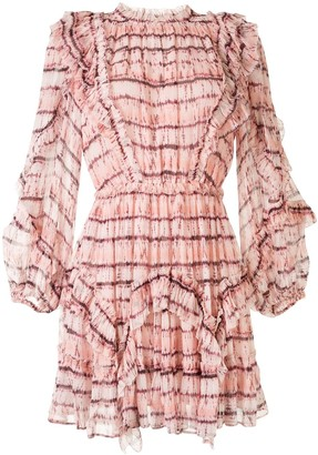 Ulla Johnson Aberdeen silk ruffle dress