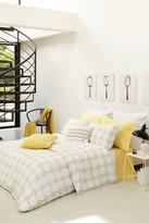 Lacoste Alombert Comforter Set - Straw/Grey