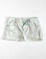 Rsq Mid Rise Cuff Girls Denim Shorts
