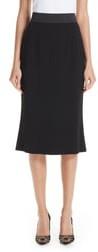 Dolce & Gabbana Stretch Cady Pencil Skirt