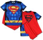 Bioworld Superman Men's Sublimated T-shirt With Cape