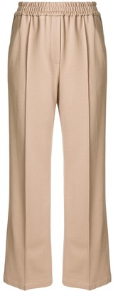 Goodious Wide-Leg Elasticated Waist Trousers