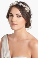 Halo & Co 'Cannes' Crystal Flower Headband