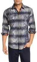 Robert Graham Men's 'Limited Edition' Regular Fit Graphic Back Sport Shirt