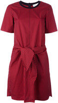 3.1 Phillip Lim tie front dress - women - Silk/Cotton/Spandex/Elastane/Viscose - 0