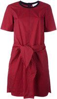 3.1 Phillip Lim tie front dress - women - Silk/Cotton/Spandex/Elastane/Viscose - 2