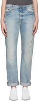 R 13 Blue Classic Jeans
