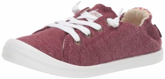 Roxy Girls' RG Bayshore Slip On Sneaker Shoe