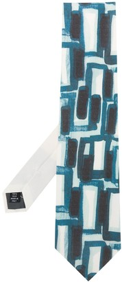 Gianfranco Ferré Pre Owned 1990s Abstract Print Neck Tie
