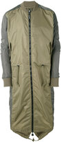 MHI Ergonomic Fishtail bomber coat - men - Nylon - L
