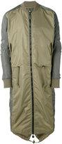 MHI Ergonomic Fishtail bomber coat - men - Nylon - XL