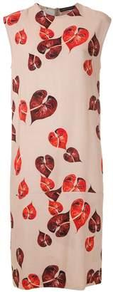 Andrea Marques printed shift dress