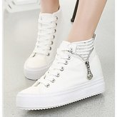 SOFIAMORE? Women's Shoes Canvas Closed Toe Fashion Sneakers More color