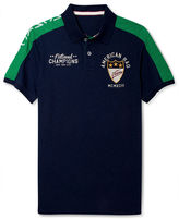 American Rag Shirt, Pieced Sleeve Polo Shirt