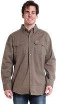 Stanley Men's Twill Button-Down Shirt