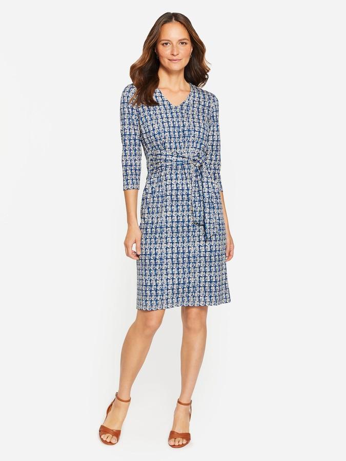 Thumbnail for your product : J.Mclaughlin Aya Dress in Mini Sana Square