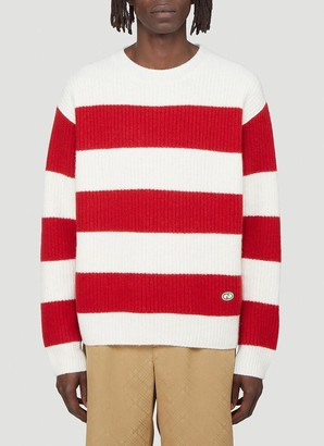 Gucci Striped Knitted Sweater