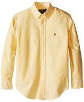 Polo Ralph Lauren Solid Oxford Shirt (Big Kids)